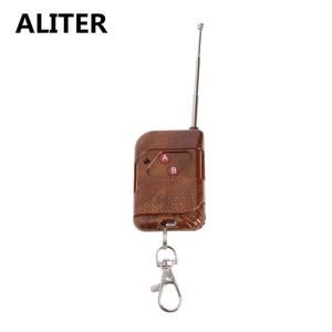 Image 3 - ALITER 0 50m 2 CH RF kablosuz uzaktan kumanda çift düğme verici 315 MHz/433 MHz