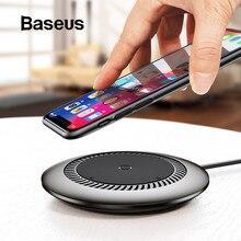 Baseus 10 Вт Qi Беспроводное зарядное устройство для iPhone X XS MAX XR 8 Plus быстрая Беспроводная зарядка для samsung Galaxy S8 S9 зарядное устройство для телефона