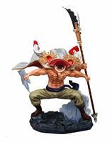 Anime One Piece Four Emperors Pirates Whitebeard Edward Newgate Battle Ver. GK PVC Action Figure Statue Model Big Size Toys Doll
