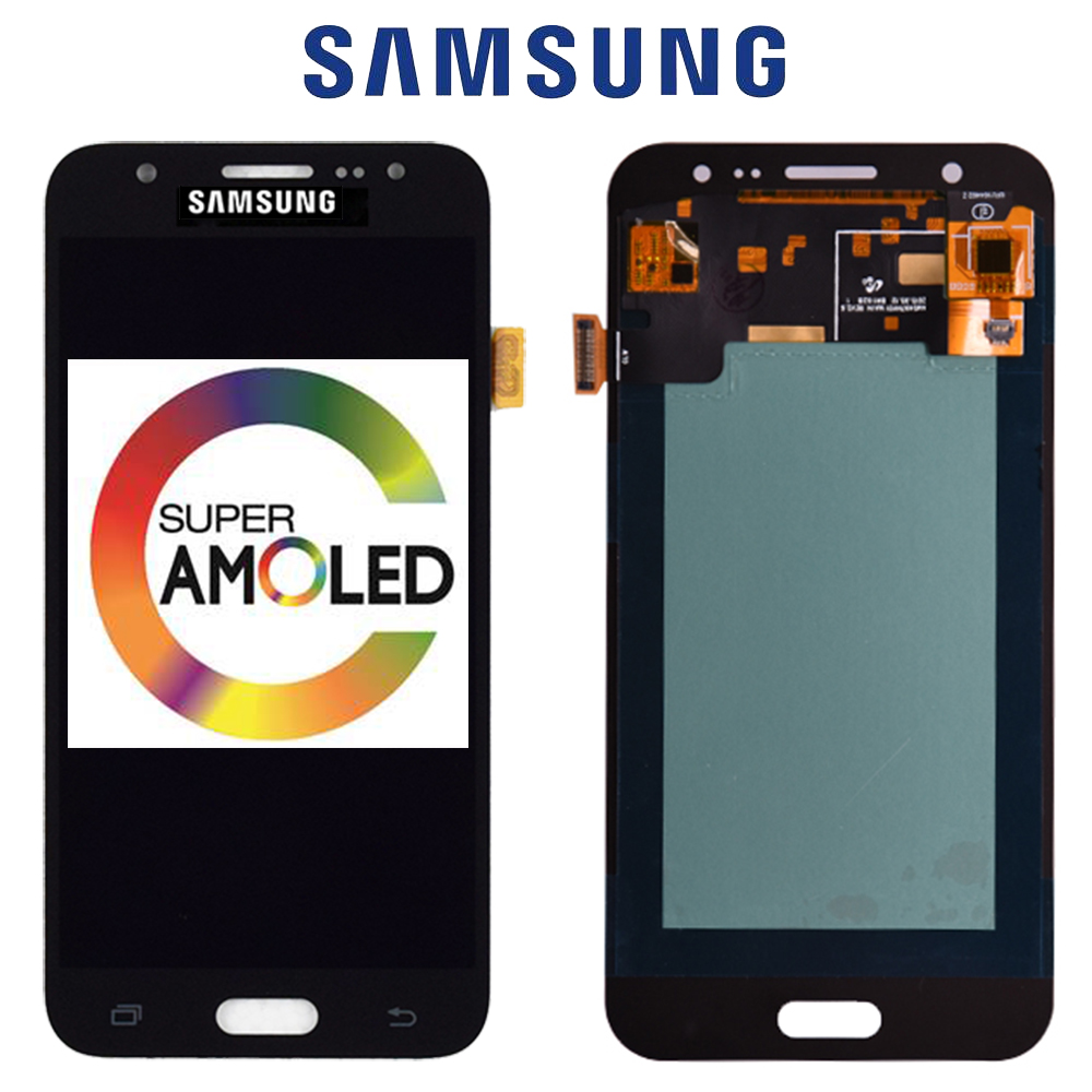 New 5'' AMOLED LCD for SAMSUNG Galaxy <font><b>J5</b></font> 2015 <font><b>J500</b></font> LCD Display J500H J500FN J500F J500M SM-J500F Touch Screen Digitizer image