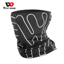 West biking verão esportes cachecol gelo seda bicicleta headwear anti-uv respirável correndo bandana proteção ciclismo equipamentos