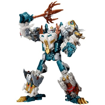 Hasbro Transformers 5in1 Decepticon Besieged Generation Selects Set Godneptune Piranacon Masterforce King Poseidon BW2 2