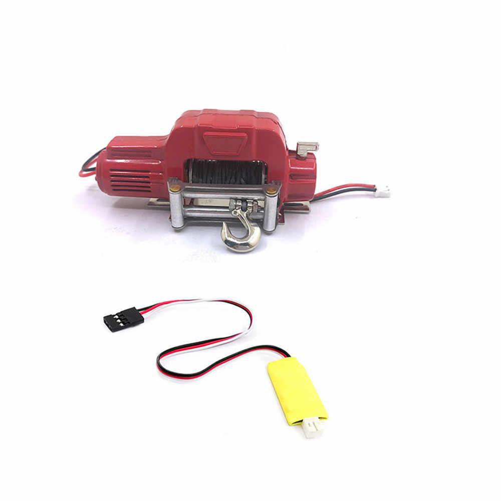 Récepteur de télécommande sans fil 3 voies treuil pour 1/10 Axial SCX10 TRX4 D90 TF2 Tamiya CC01 RC pièces de voiture sur chenilles