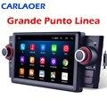 Авторадио 1 din Android 9,0 автомобильный стерео Мультимедийный Плеер для Fiat Grande Punto Linea 2007-2012 GPS-навигация Радио 8 ядер Wifi