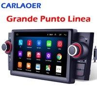 Autoradio 1 din Android 9.0 lettore multimediale Stereo per auto per Fiat Grande Punto Linea 2007-2012 Radio di navigazione GPS 8Core Wifi