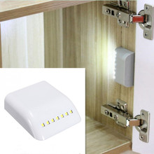 Motion Sensor Night Lamp Battery Powered Intelligent LED Night Light With Motion Sensor For Wardrobe Drawer Bedroom