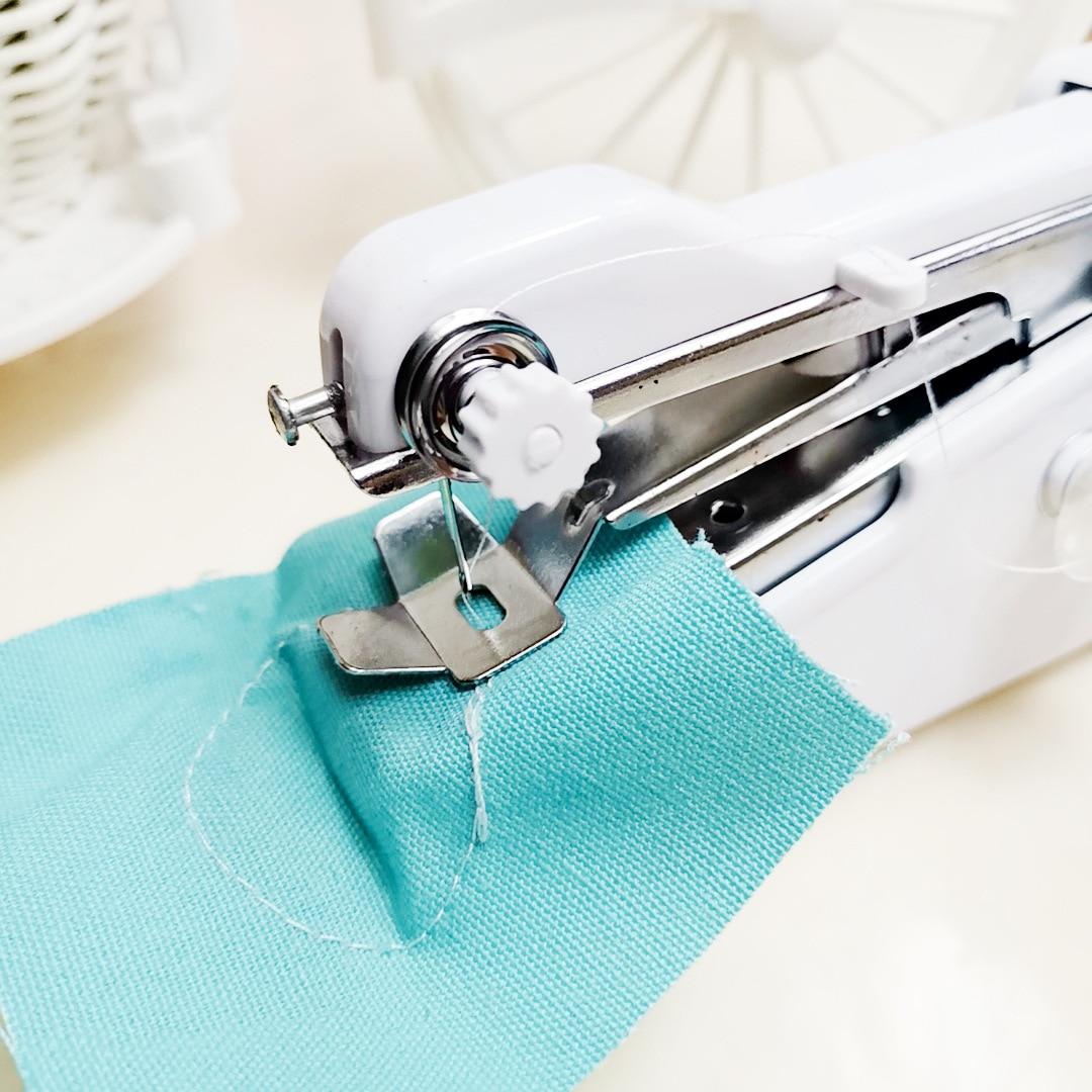 Мини-швейные машины для рукоделия Беспроводная ручная одежда простота в эксплуатации портативные Швейные машины ручная работа инструмент...