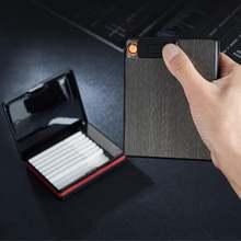 Алюминий сплава креативная сигарета хранения чехол для 20 штук