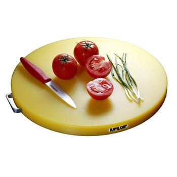 Kitchen pe chopping board round plastic cutting board thickened aseptic cutting board chopping meat chopping board