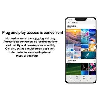 Unità Esterna Da 1 TB   Originale Huawei Di Storage Di Backup Caricabatterie Rapido Per Huawei Compagno Di 20 X P20 Pro Mate10 Di Memoria Esterno 1TB Hard Drive Stoccaggio ST310-S1