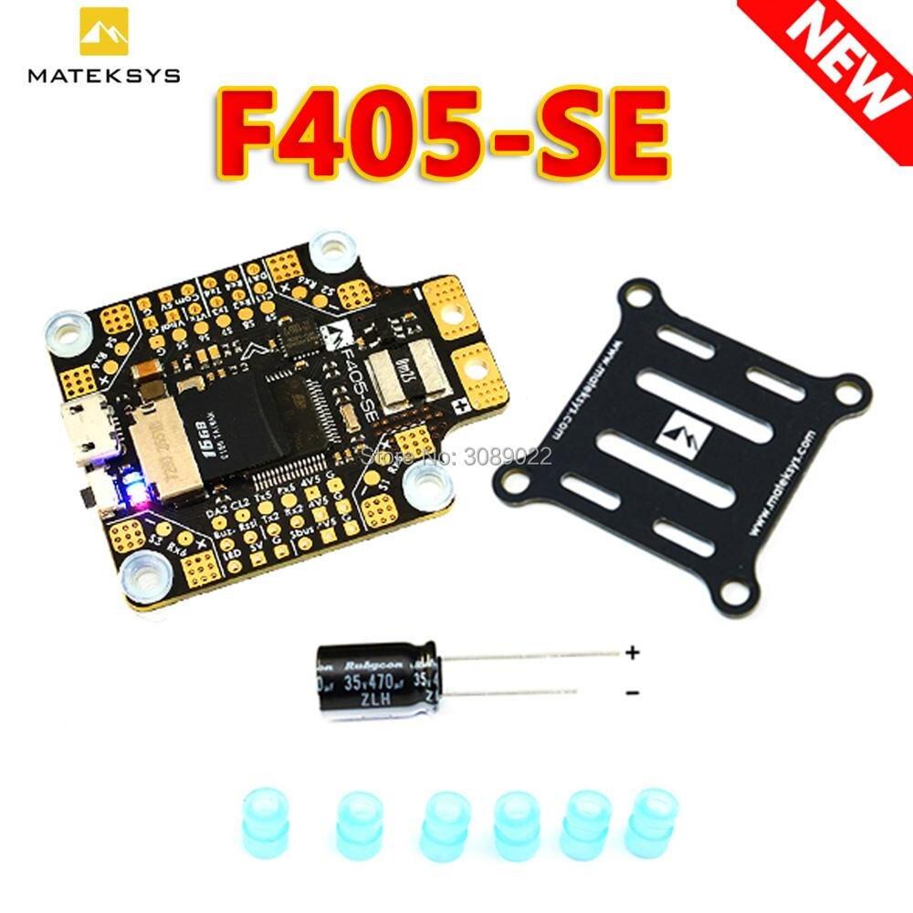 Контроллер полета Matek MATEKSYS F405-SE F405 STM32F405RET6, встроенный контроллер полета OSD SD-слот DPS310 для радиоуправляемого дрона, обновленная версия