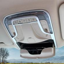 Couvercle de lampe de lecture ABS mat argenté adapté à mercedes-benz Vito W447 2014 – 2020, accessoires de voiture, garniture de lampe de lecture avant, 1 pièce