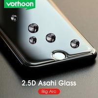 Película protetora de vidro temperado vothoon 2.5d para iphone 6s 7 8 plus e iphone 11 pro xs max