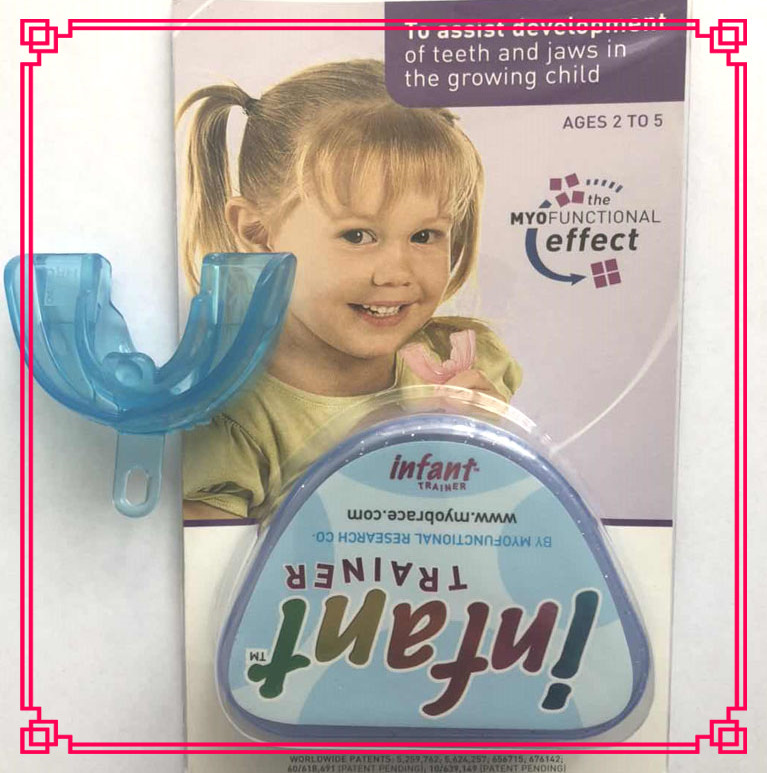 Myobrace Hot Selling Children Orthodontic Teeth Trainer Infant Blue Color Australia  Myobrace Brand