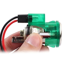 Car-Styling Cigarette Lighter Power Socket Head &Base Included Automobiles