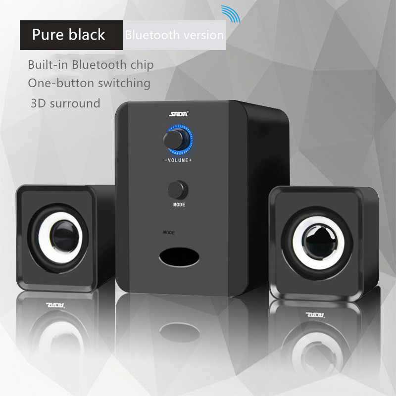 Komputer PC Kombinasi Music Center Theater Sistem BOOMBOX Loudspeaker Subwoofer Bluetooth Speaker Caixas De Som F4033