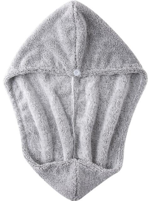 Bamboo Fiber Absorbent Dry Hair Towel Hat