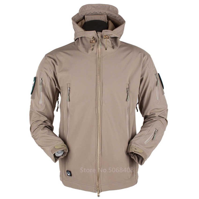 Jaqueta camuflada militar masculina, casaco militar tático airsoft roupas para uso ao ar livre, exército, forças especiais, à prova d'água, roupas de trabalho