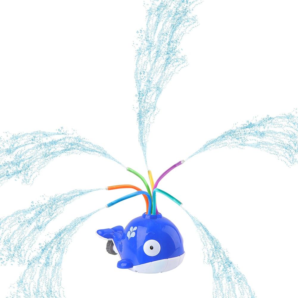 desenhos animados rotatable jardim sprinkler brinquedo bebê