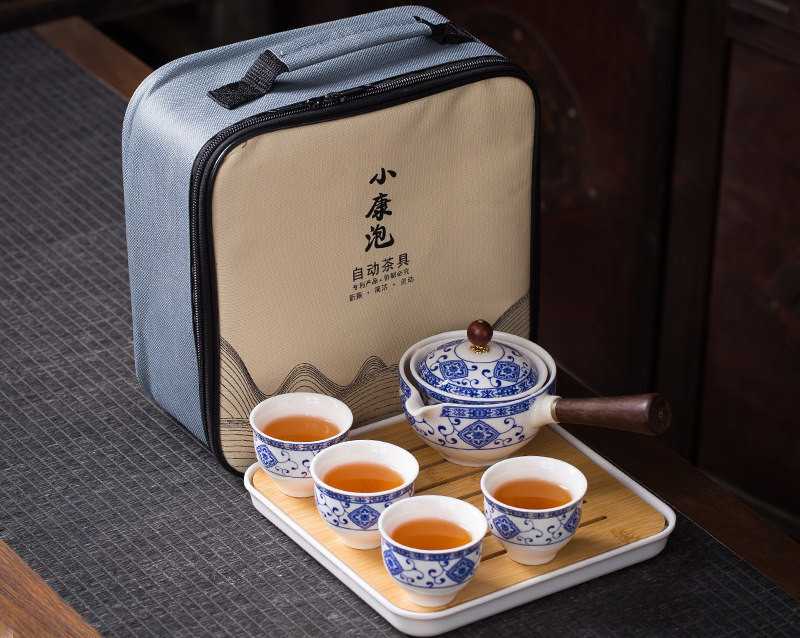 Hand Made 360 Rotation Tea Maker