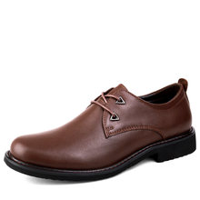 Men Formal Shoes Genuine Leather Business Casual Shoes High Quality Men Dress Office Luxury Shoes Male Breathable Oxfords