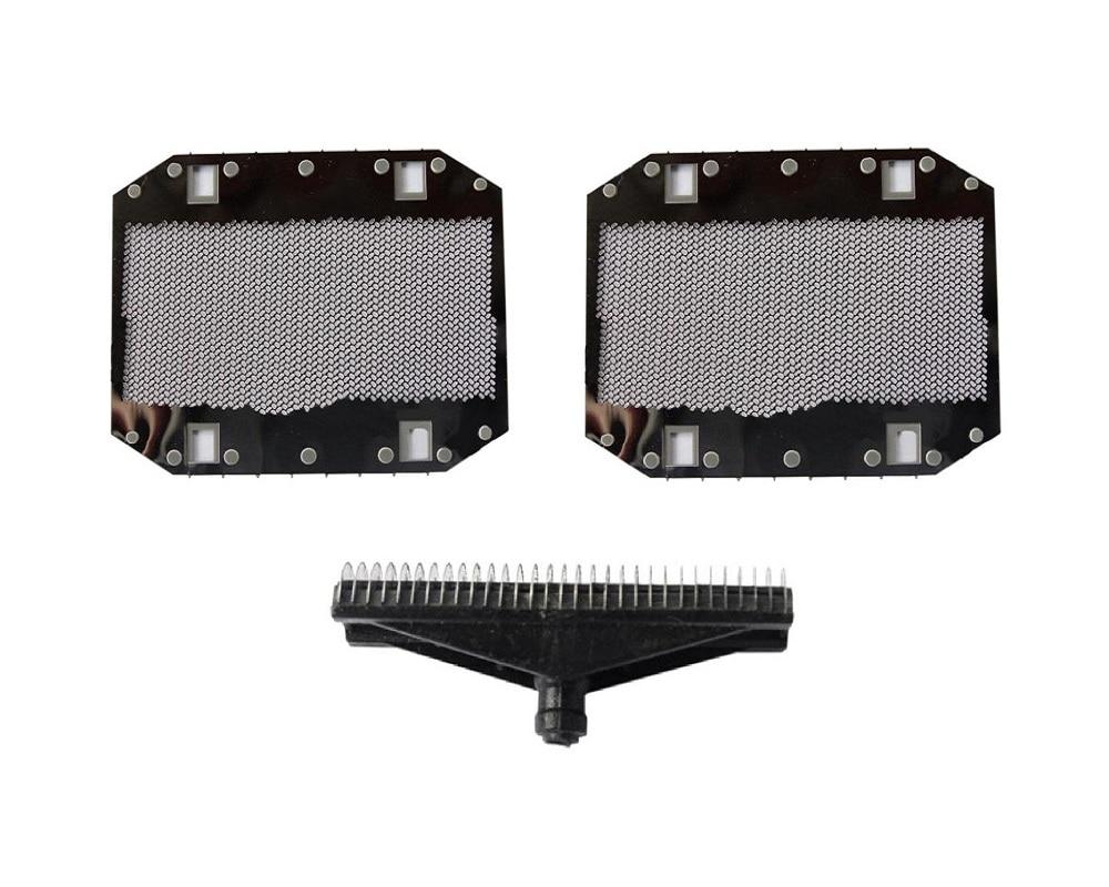 1x Shaver Cutter + 2 XRazor Replacement Foil For Panasonic  ES3800 ES9943 ES876 SA-40 ES9943 ES3833 ES3831 ES3830 ES3832 Mesh