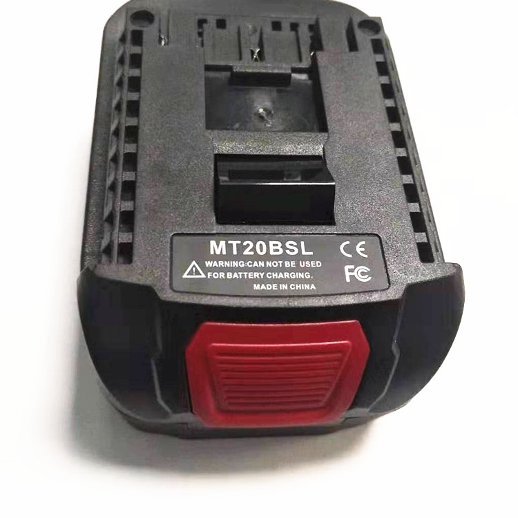MT20BSL Battery Charger for Makita BL1815 BL1830 BL1850 Convert Makita Batteries for <font><b>Bosch</b></font> <font><b>18V</b></font> Batteries <font><b>Adapter</b></font> Replacement image
