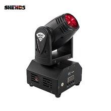 משלוח מהיר מיני LED 10W RGBW Beam הזזת ראש אור קרן גבוהה כוח אור עם מקצועי עבור מסיבת KTV דיסקו Dj שלב