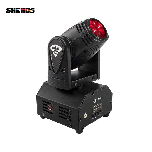 Szybka wysyłka Mini LED 10W wiązka RGBW reflektor z ruchomą głowicą światło o dużej mocy z profesjonalnym na imprezę KTV scena dyskoteki Dj