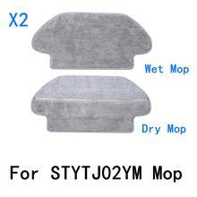 Lavável mop para xiaomi mijia mi robô mop pro mijia stytj02ym aspirador de pó robótico viomi v2 p V-RVCLM21B kits peças