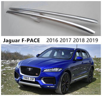 Tetto Rastrelliere Portapacchi Per Jaguar F PACE 2016 2017 2018 2019 di Alta Qualità di Alluminio Pasta di Installazione Accessori Auto|Barre e box per tetto auto|Automobili e motocicli -