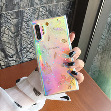 Epoxy resin crystal Golden Glitter Cute Unicorn Silicone Phone Case For