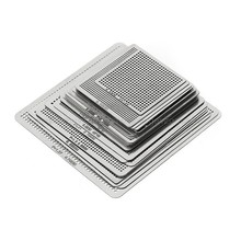 27 шт. BGA Трафареты Универсальный прямой обогрев Трафареты для SMT SMD чип Rpair Au11; Прямая поставка