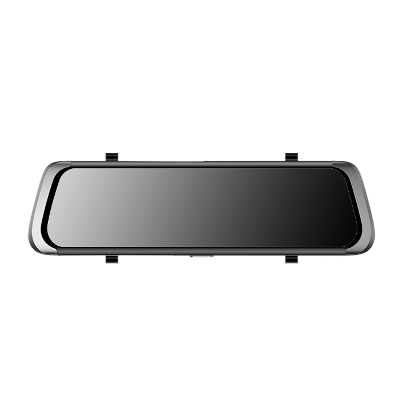 Car-Dash-Recorder Contact-Screen Dual-Cams Motion-Detection-Mirror HD1080P 10inch 1:1-Display