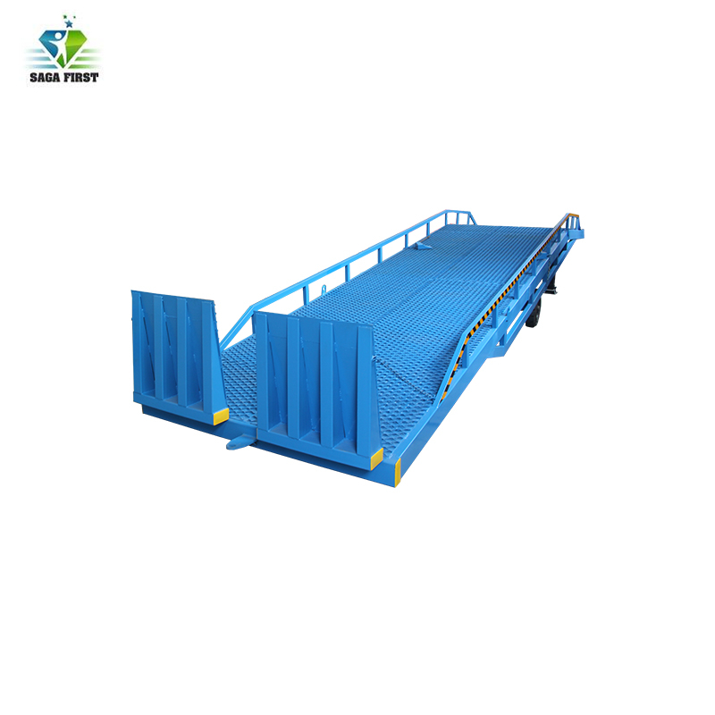8ton 10ton 12ton Electric Hydraulic Forklift Container Dock Leveler