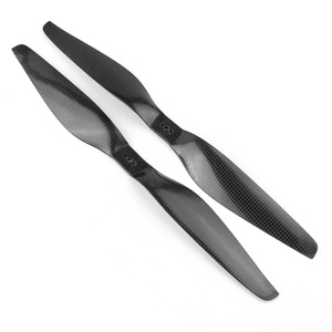 Image 3 - 10 Pairs Three hole Carbon Fiber 15x5.5 1555 Propeller CW CCW Prop For Tiger  Multicopter RC Aircraft FPV Drone F06794 10
