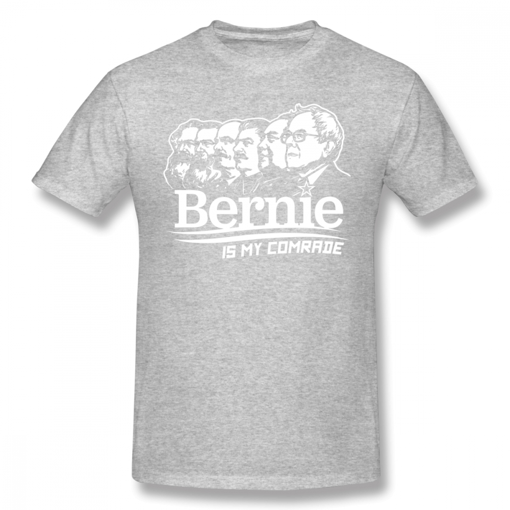 Stalin T Shirt Bernie Sanders Is My Comrade T Shirt 100 Cotton Summer Tee Shirt Men Cute XXX Short Sleeve Printed Tshirt in T Shirts from Men 39 s Clothing