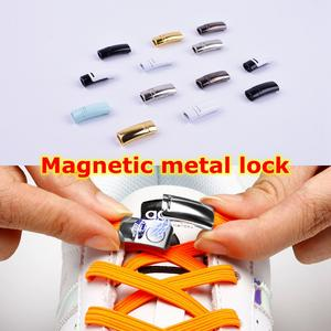 Magnetic Shoelaces Buckle All-Kinds Metal Child Adult of Casual No-Tie Unisex Suitable-For
