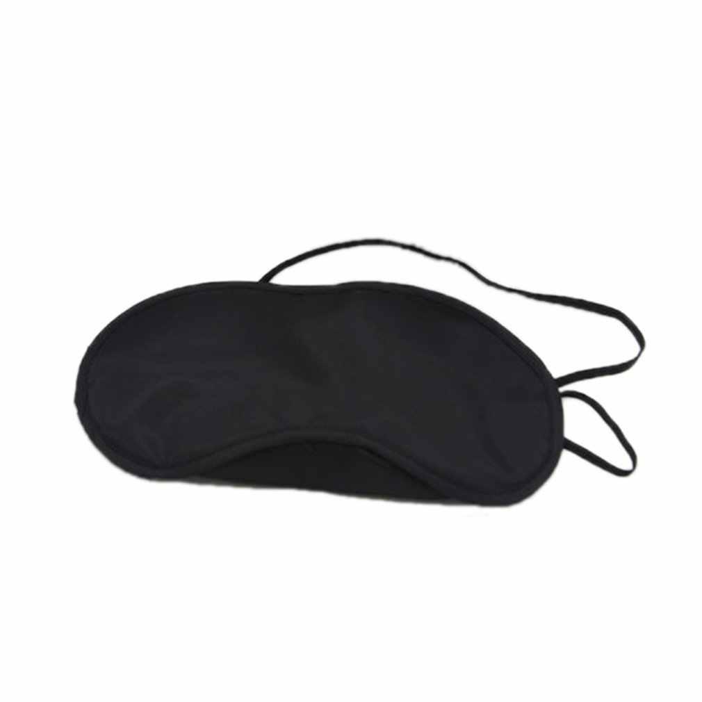 Juego de almohada de flocado de tres piezas de viaje para coche incluye máscara de aire para los ojos, auricular en forma de U, cuello de almohada flocado resto