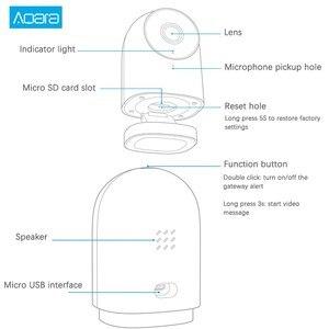 Image 5 - Aqara g2 gateway edição 1080p câmera ip inteligente zigbee ligação app controle sem fio nuvem dispositivo de segurança em casa
