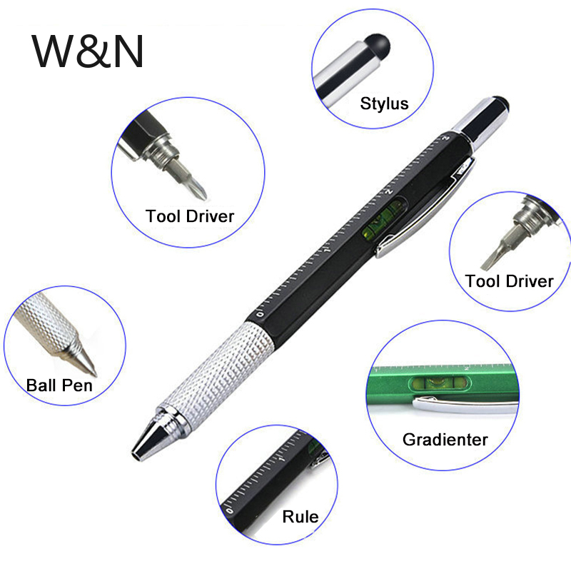 2020 New Arrival Multifunctional Ballpoint Pen 1.0MM Black Ink Refill Personal Office Pens For Writing Rollerball Pen Stationery