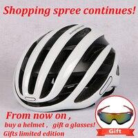 2019 neue Radfahren Helm Straße MTB Fahrrad Helm Triathlon bike Sport aero Cascos Ciclismo Capaceta Bicicleta Bike Ausrüstung-in Fahrradhelm aus Sport und Unterhaltung bei