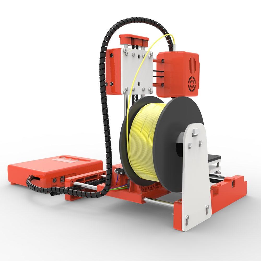 Mini Portable  Kids 3D DIY Printer for Household Education 28