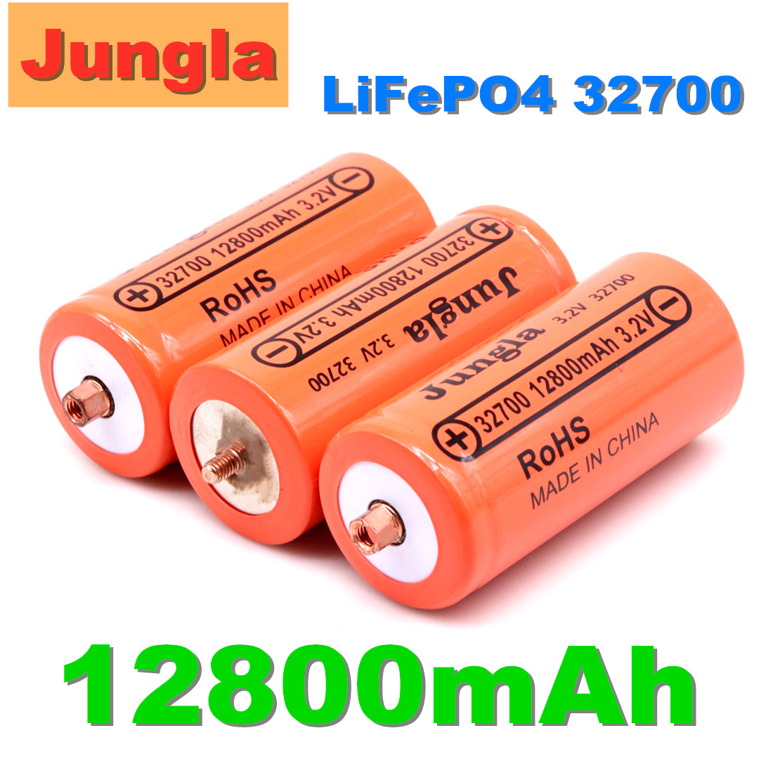 original Brand 32700 12800mAh 3.2V lifepo4 Rechargeable Battery Professional Lithium Iron Phosphate Power Battery with screw|Replacement Batteries|   - AliExpress