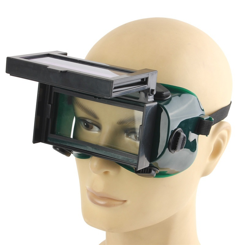 Сварочный шлем затемнение Сварочная маска блестящие ЖК-Очки Солнечные шлифовальные очки защитный питание