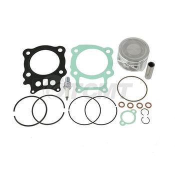 Motorcycle Piston Rings Gasket Kit Spark Plug For Honda Rancher TRX350 00 01 02 03 04 05 06