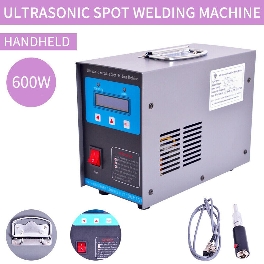 110V/220V Portable Ultrasonic Plastic Spot Welder 600W Plastic Ultrasonic Spot Welding Machine