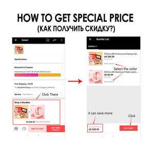 Image 2 - FOCALLURE Professional Makeup Set Hot Sale Product Kit