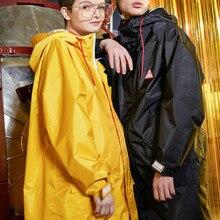 Long Windbreaker Women Raincoat Jackets Outdoor Hiking Yellow Rain Coat Poncho Waterproof Suit Couple Raincoats Impermeable Gift