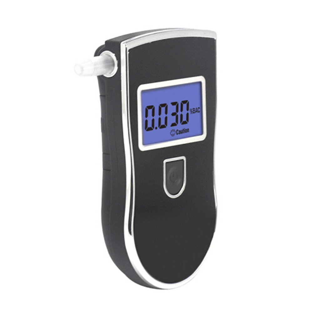 Digital Breath Alcohol Tester Breathalyzer With Lcd Display High Precision Gas Alcohol Tester Portable